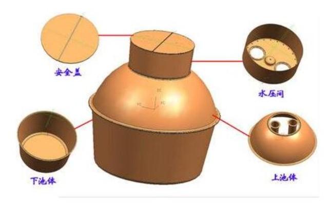 正西复合材料成型液压机产品2