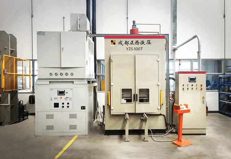 成都正西液压设备制造有限公司提供全套加热与冷却方案